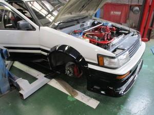 AE86 レビン改・・・3